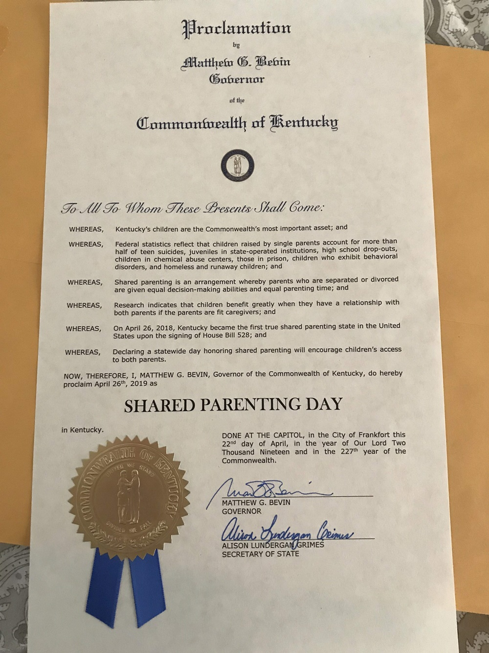 SP Day Proclamation 1